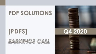 [PDFS stock] PDF Solutions Q4 2020 Earnings Call (2/18/21)