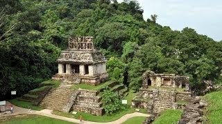 Смотреть онлайн Древний город Паленке, экскурсия в Мексике