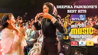 Deepika Padukone's Best Bollywood Songs Hits I Smule Mirchi Music Awards 2020 I Extended Video
