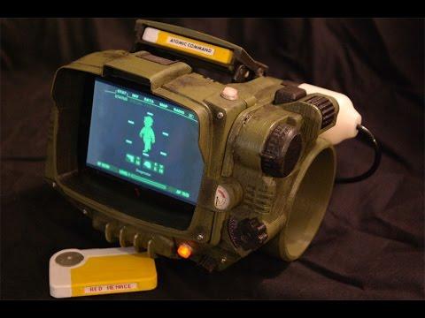 Хотите свой собственный Pip-Boy? Распечатайте его на 3D-принтере!