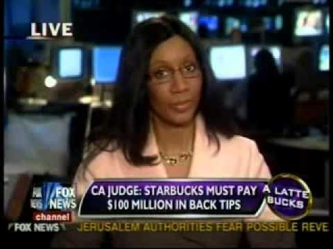 Anita Kay on Studio B Discussing the Starbucks Back Tips Judgment