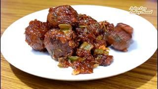 Veg Manchurian Dry Recipe - Chinese starter Veg Manchurian Recipe - Dry Manchurian Recipe in Hindi