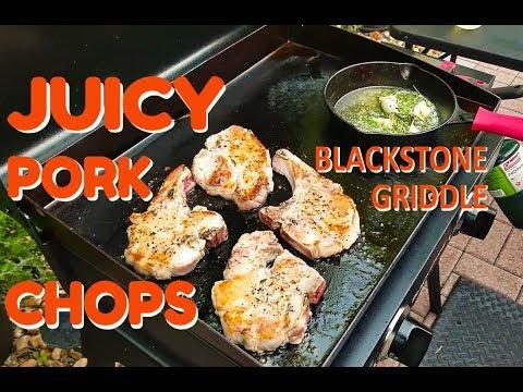 Blackstone Juicy Pork Chops | COOKING WITH BIG CAT 305