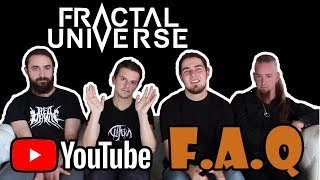Fractal Universe's Q&A (in English and French)