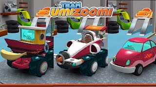 Team Umizoomi: Math Racer - Best Apps for Kids | All Red Cars With Geo, Milli and Bot