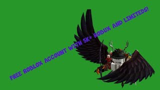 free roblox accounts with robux and password 2018 - मुफ्त