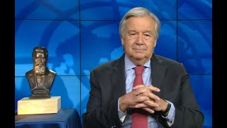 UNSG Guterres Addresses World Jewry, Honored by WJC