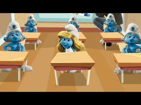 Детская песенка. Чему учат Смурфиков в Школе?