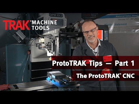 Managing Files, TRAK USB Memory Option, Installing Offline Software | ProtoTRAK Tips — Part 1