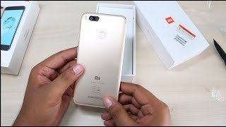Xiaomi Mi A1 Android One Unboxing, Hands on, Camera, Features