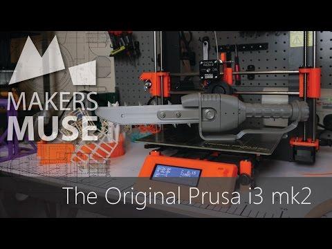 Original Prusa i3 Mk2 3D Printer Review