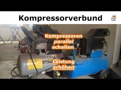 Kompressoren parallel schalten - Leistung verdoppeln