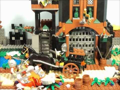 Vidéo LEGO Kingdoms 7947 : La prison de la tour