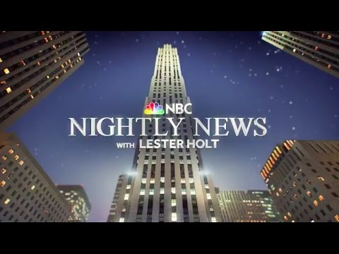 'NBC Nightly News with Lester Holt' - Intro | 10.10.16