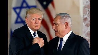 President Donald Trump Meets with Prime Minister Benjamin Netanyahu of Israel to Talk About IRAN