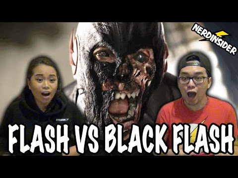 THE FLASH VS BLACK FLASH Season 3 Episode 16 REACTION & REVIEW Into The Speed Force