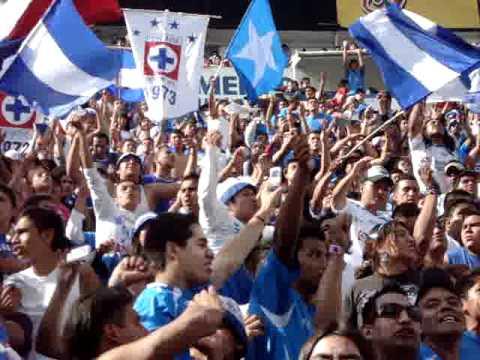 """""""Quiero quemar el gay-inero!"""" Barra: La Sangre Azul • Club: Cruz Azul"""