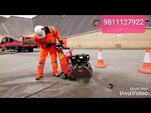 HUSQVARNA  (SWEDAN) CONCRETE ROAD CUTTING MACHINE