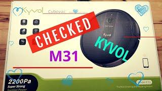 KYVOL E31 STAUB-WISCHROBOTER UNBOXING - REVIEW
