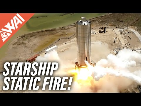 SpaceX Starship Updates – Static Fire! – Perseverance Mars Rover Launch Summary