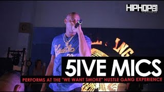 "5ive Mics Brings Out Lil Duval & Performs at the ""Hustle Gang Takeover"" (The Gathering Spot)"