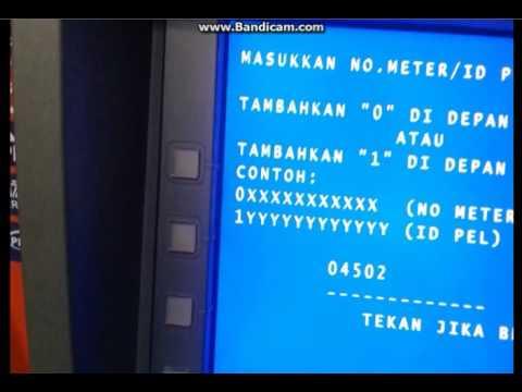 Cara Beli Token Listrik Via ATM Bni