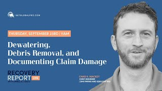 Recovery Report Live with Guest, Chad Mackey, Ep.67