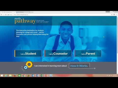 Introduction to MEFA Pathway's Student Features & Counselor Tools