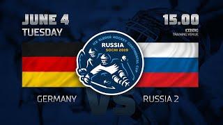 Германия - Россия 2. Следж-хоккей.