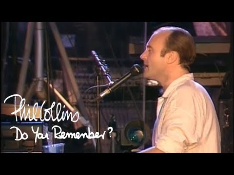 Phil Collins - Do You Remember (Official Music Video)
