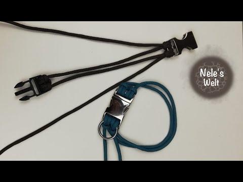 Paracord für Anfänger, Grundgerüst für Armband, Hundehalsband, Kosmetik, Führung