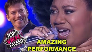 """JUDGES BLOWN AWAY by AMAZING PERFORMANCE from La'Porsha of """"Come Together"""" by The Beatles"""