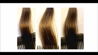 Aclarar un tono con tinte rubio medio número 7, un cabello color rubio oscuro natural o teñido