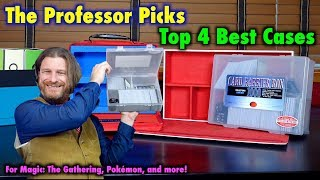 Top 4 Best Storage and Transport Cases For Magic: The Gathering, Pokémon, and Trading Card Games