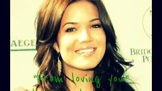 From loving you by Mandy Moore (with lyrics)
