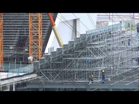 03/03/2014 - Entorno, Arena Corinthians e arquibancada provisória