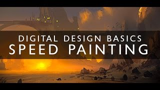 Digital Painting Basics - Introduction To Speed Painting - Concept Art Tutorial