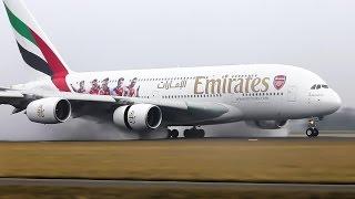 Amazing landings A380, A340, B747, B777, B787 on The Polderbaan. | Kholo.pk