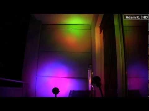 5 WATT GU10 LED Birne/Lampe/Light mit 16 Farben & Fernbedienung - Video Check/Test