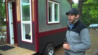 A 60 Square Foot Tiny House/Camper/Cabin on Wheels WITH a shower, toilet and kitchen!?