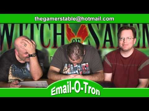 The Gamers' Table Episode 8: Witch Of Salem