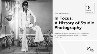 In Focus: A History of Studio Photography