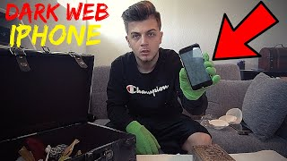 Opening A Dark Web Mystery Box (Apple iPhone) VERY SCARY