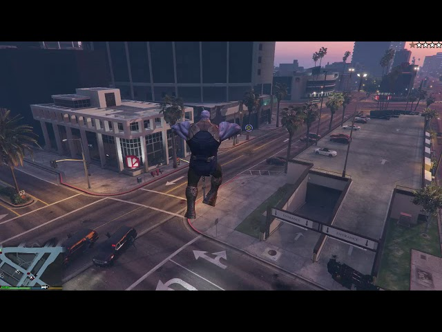 Upcoming GTA V Mod Will Let You Play As Thanos Armed With