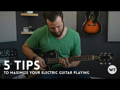 5 tips to maximize your electric guitar playing // Guitar Lesson