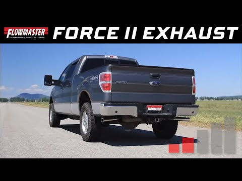 2011-14 Ford F-150 3.5L EcoBoost - Force II Cat-back Exhaust System 817539