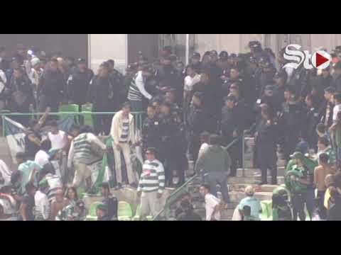 #VIDEO Muerte y violencia 'tiñen' eliminación de #Santos frente al #Monterrey