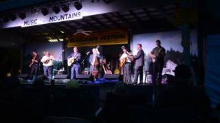 Dailey and Vincent @ Music in the Mountains Bluegrass Festival 2016