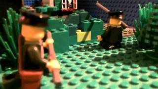 preview picture of video 'Lego WW2 - Attack on village'