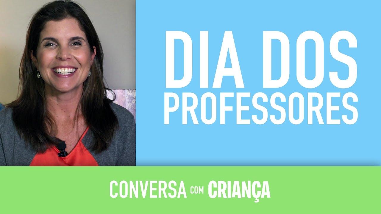 Dia dos Professores | Conversa com Criança